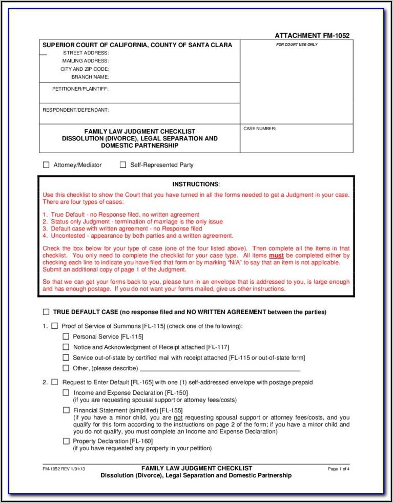 Colorado Legal Separation Forms