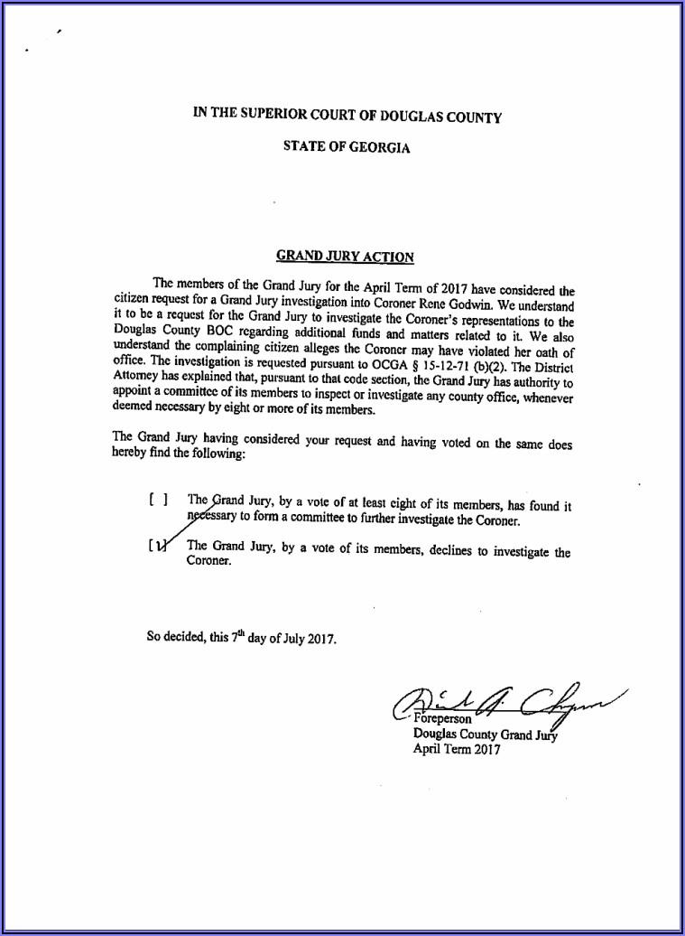 Douglas County Georgia Divorce Forms