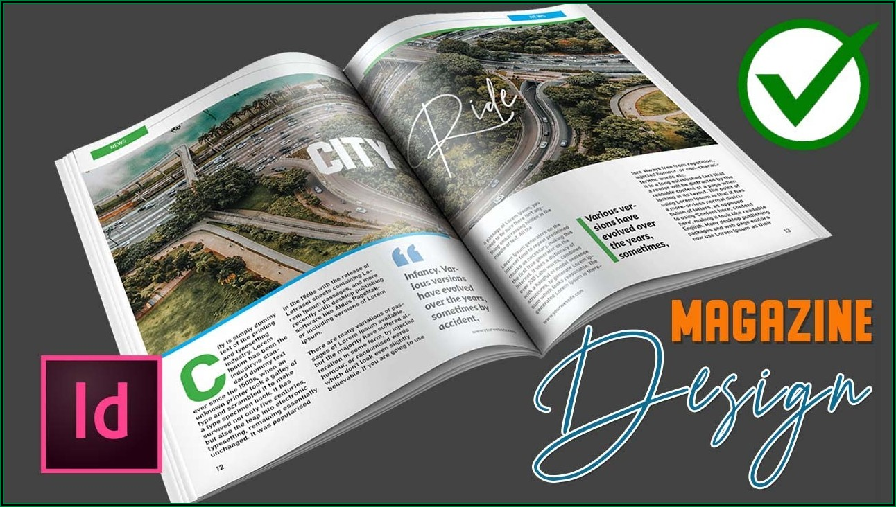 Download Adobe Indesign Magazine Template