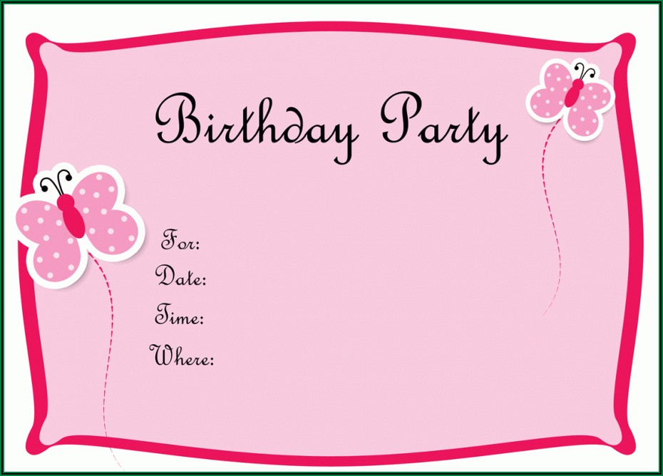 Download Birthday Invitation Maker
