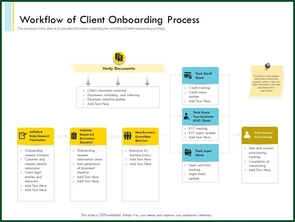 Employee Onboarding Document Template