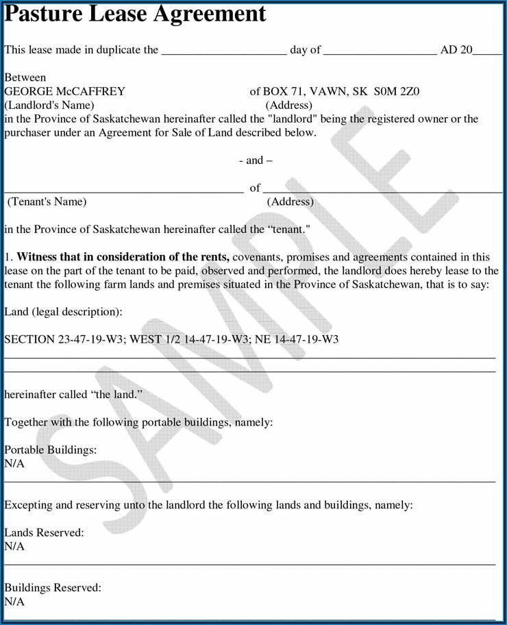 Farm Equipment Rental Agreement Template