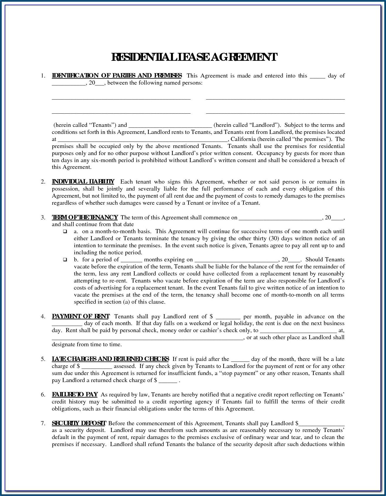 Farmland Rental Agreement Form Saskatchewan