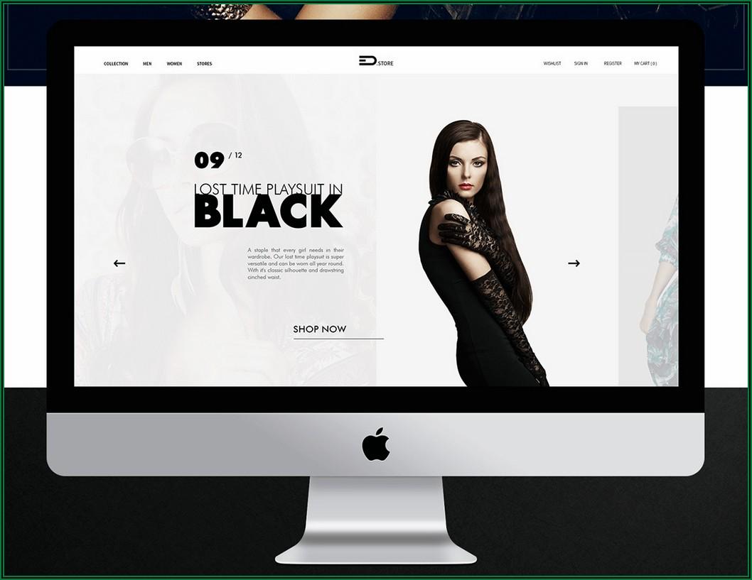 Fashion Boutique Website Templates Free Download