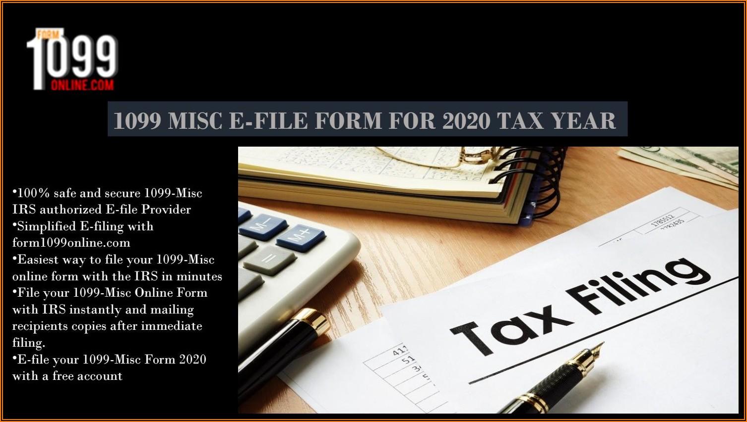 Free E File Form 1099 Misc