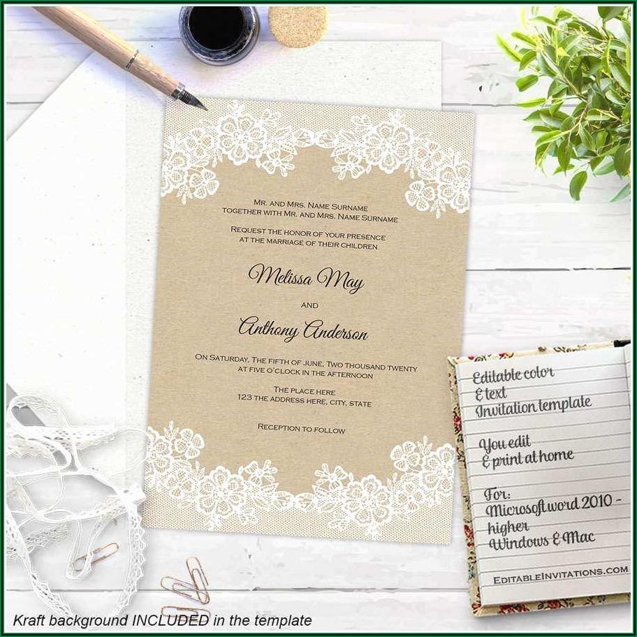 Free Evite Invitation Templates
