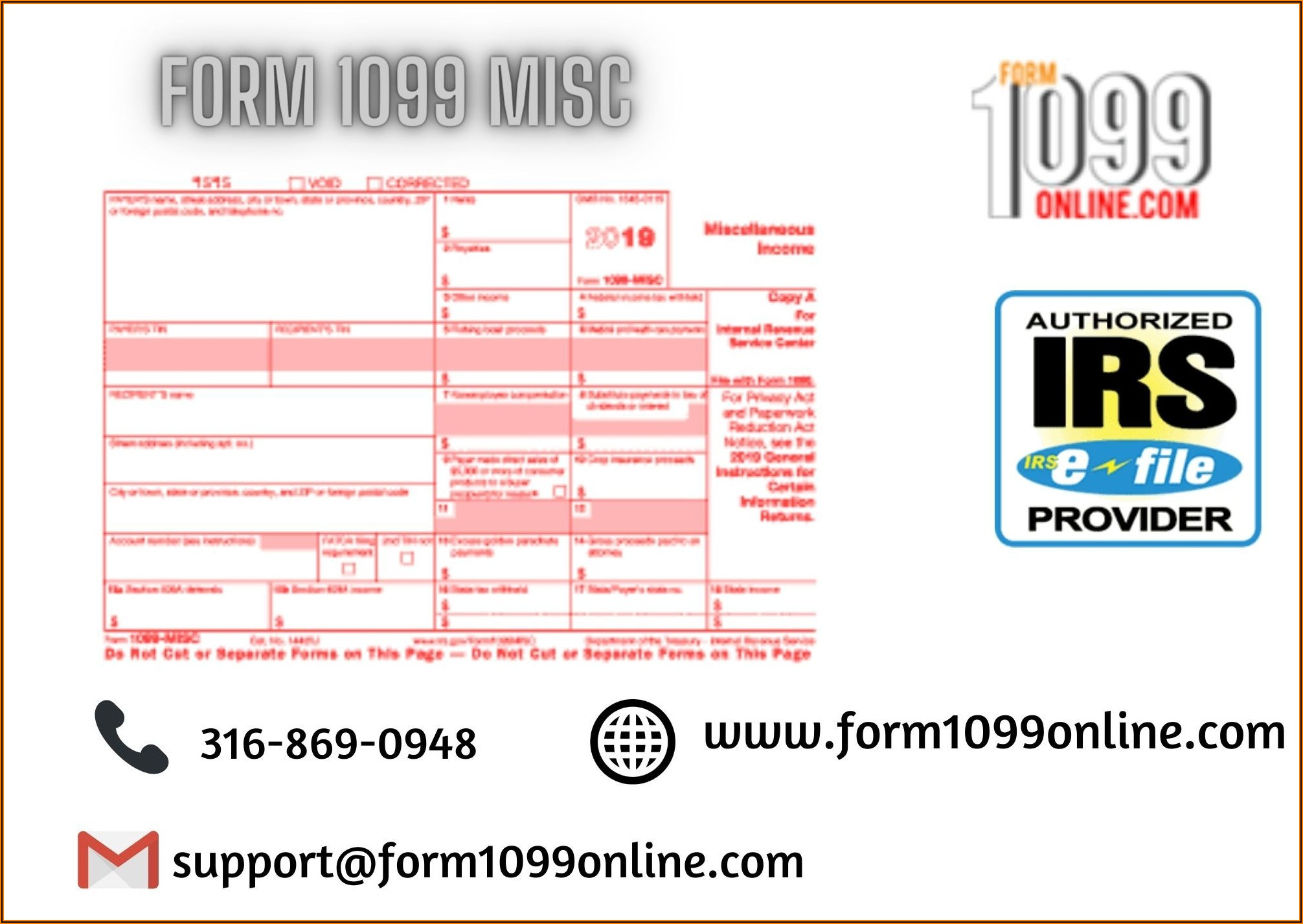 Free Form 1099 Misc