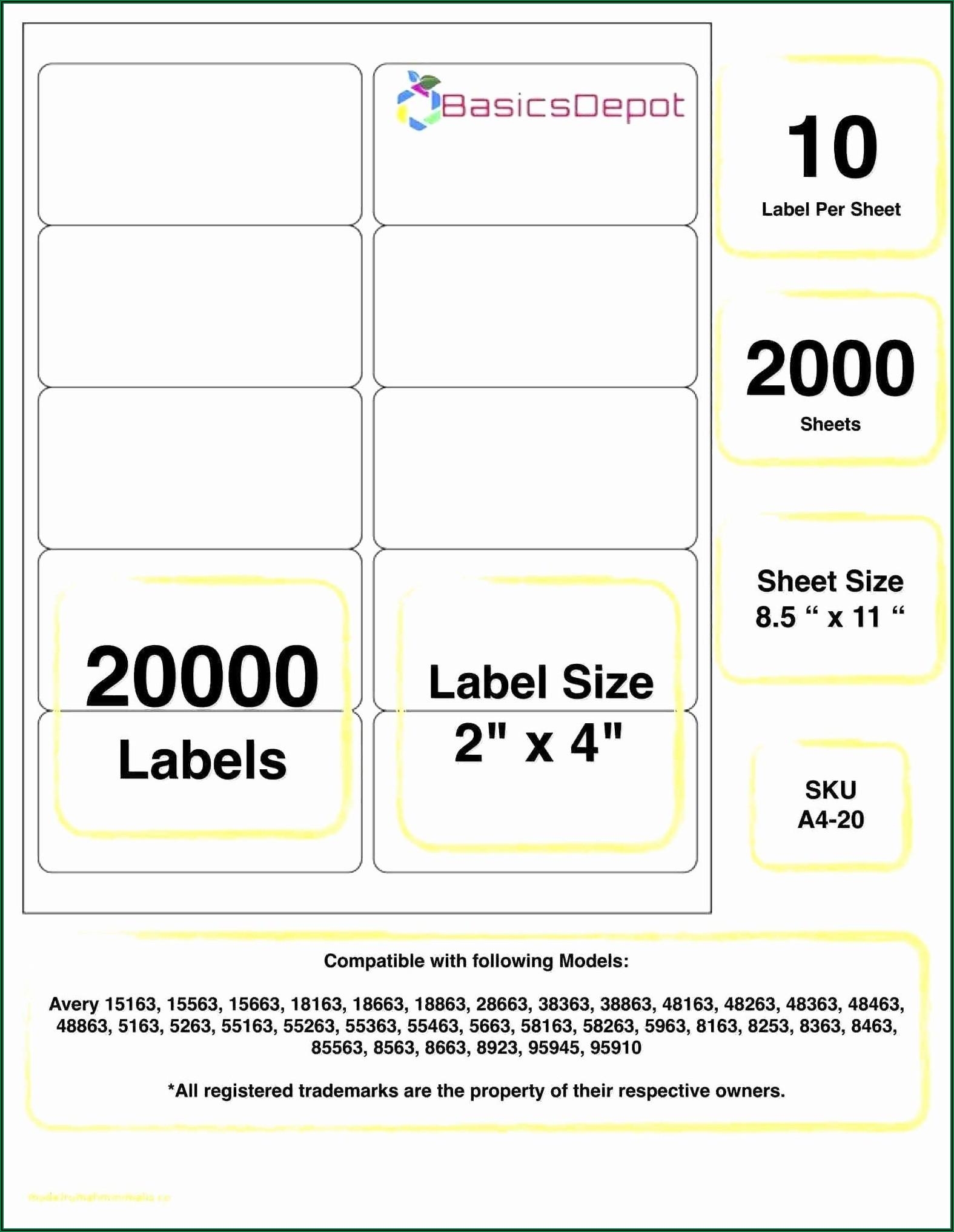 Free Printable Avery Label Templates
