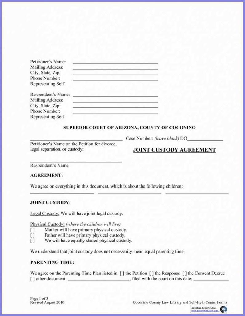 Free Printable Child Custody Forms Kentucky