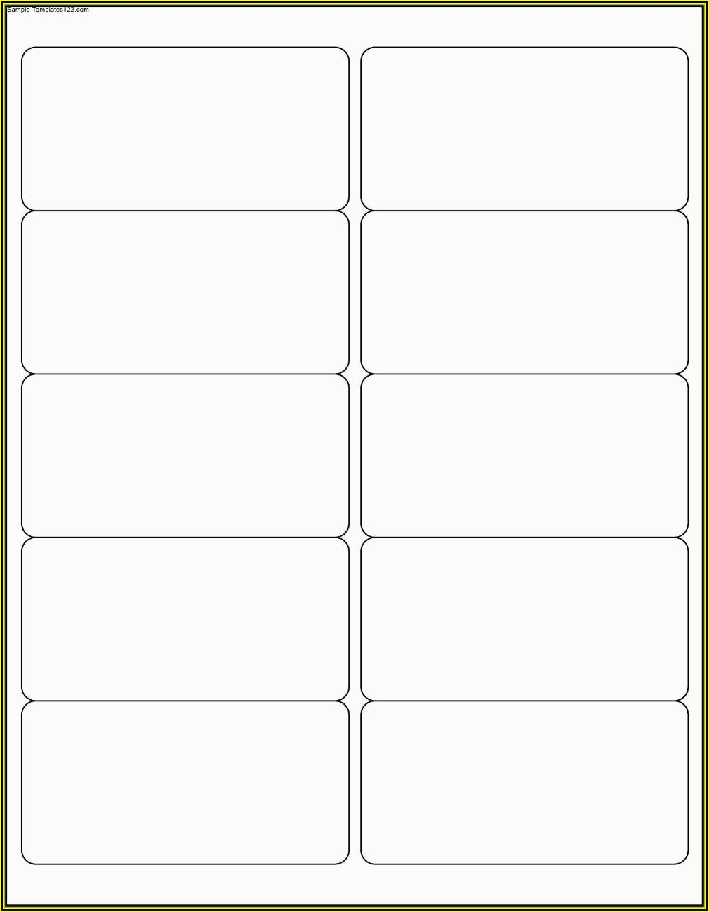 Free Printing Labels Template