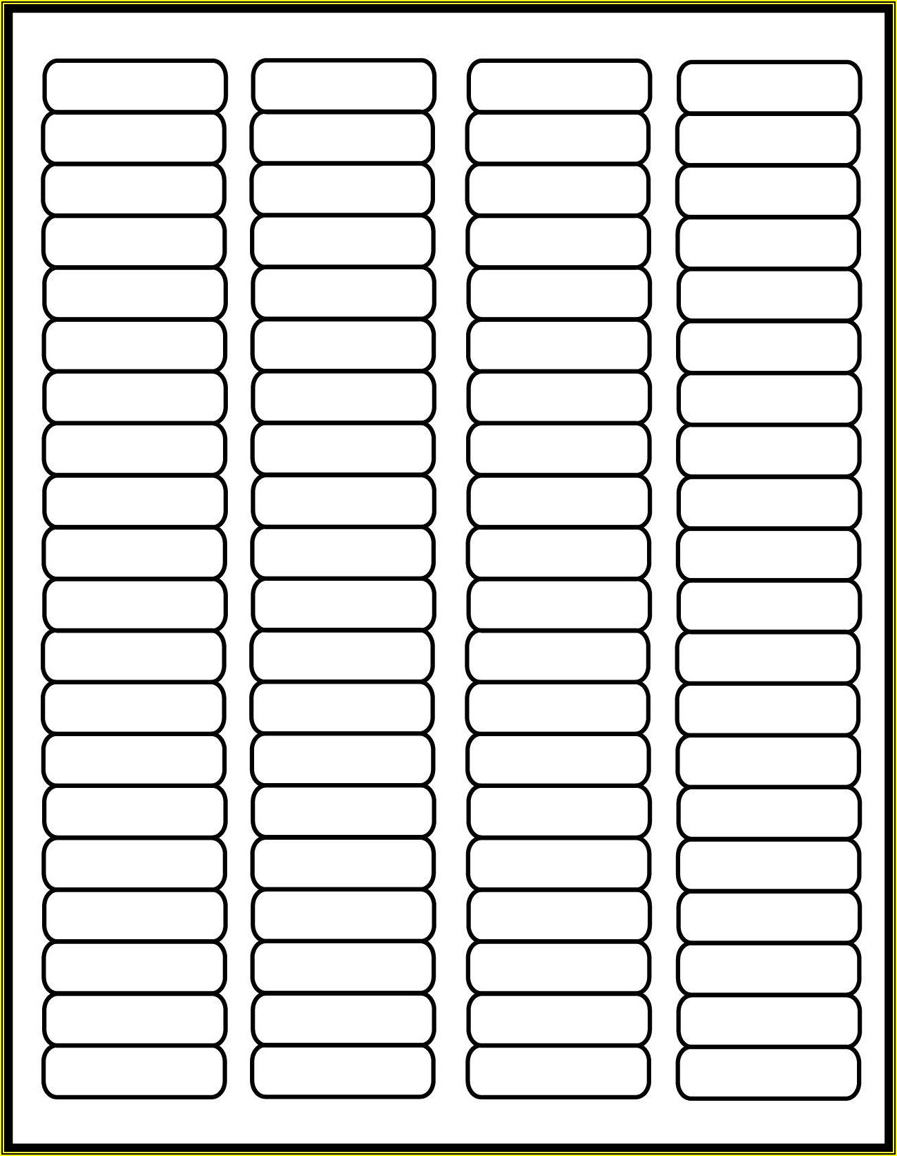 Free Templates For Return Address Labels