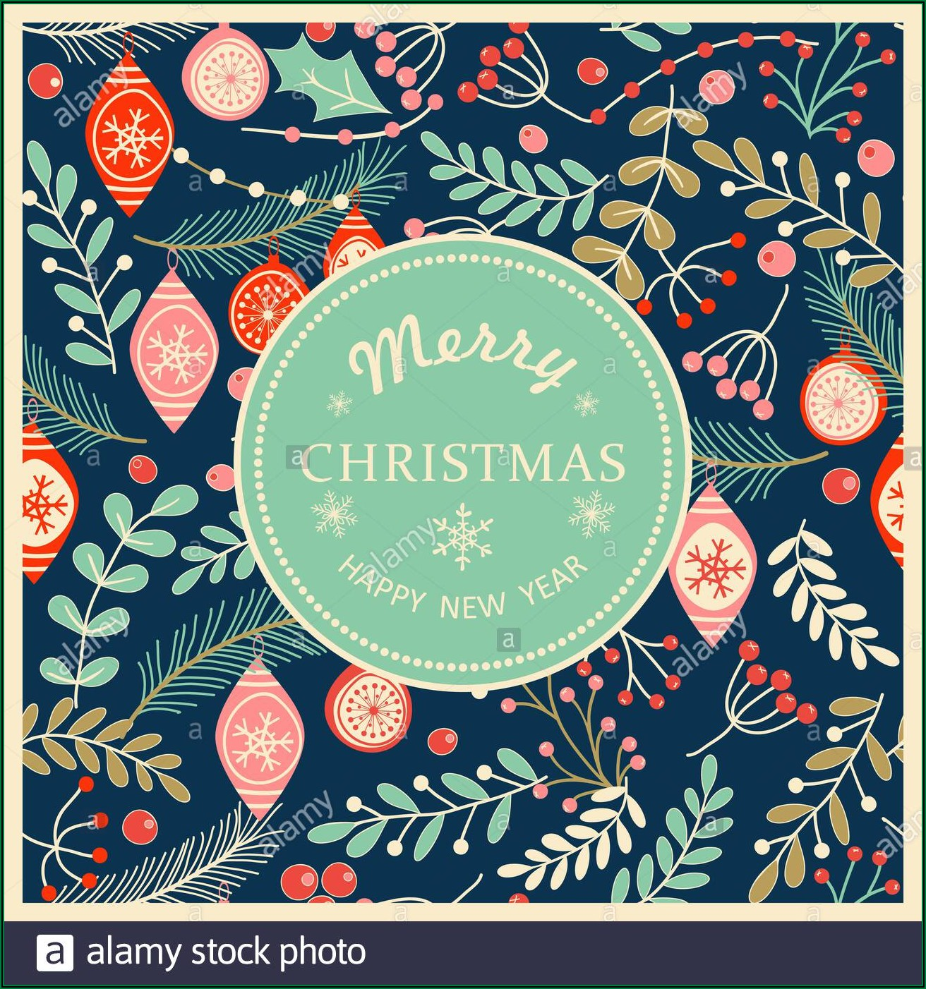 Happy New Year Greeting Card Templates
