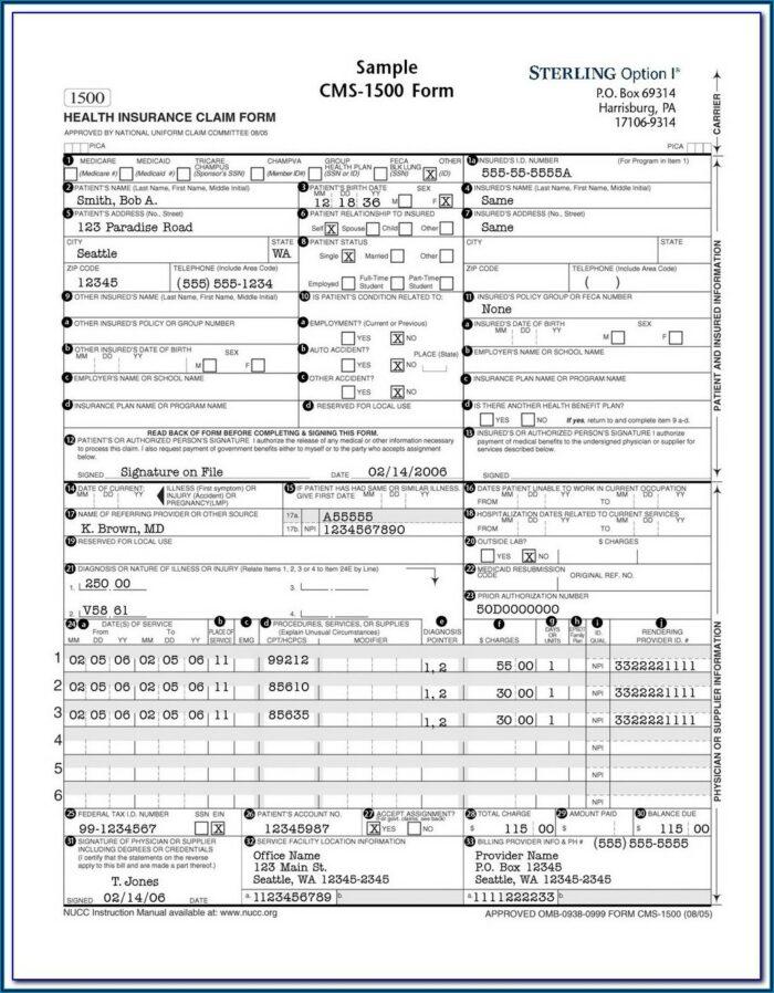 Hcfa 485 Form Pdf