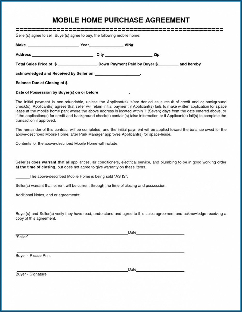 Home Rent Contract Sample