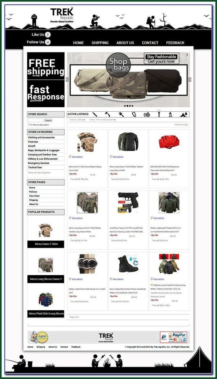 How To Create Custom Ebay Store Template
