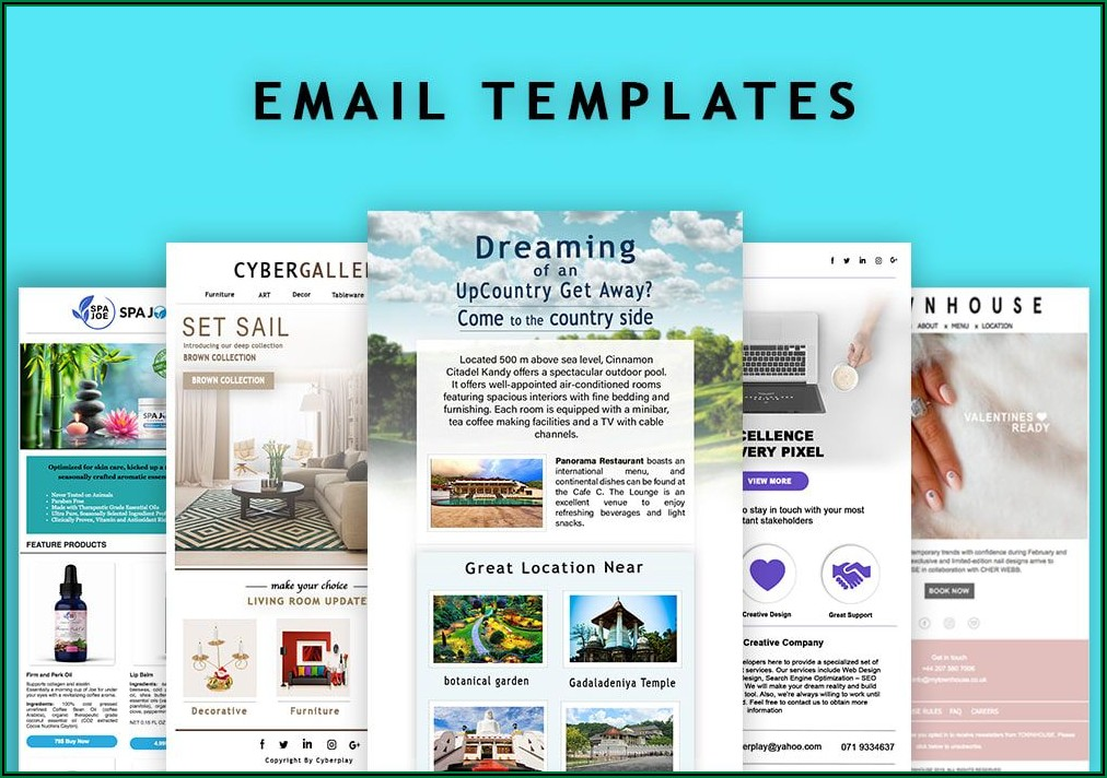 Html Template For Mailchimp