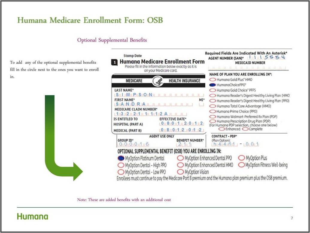 Humana Pharmacy Enrollment Form