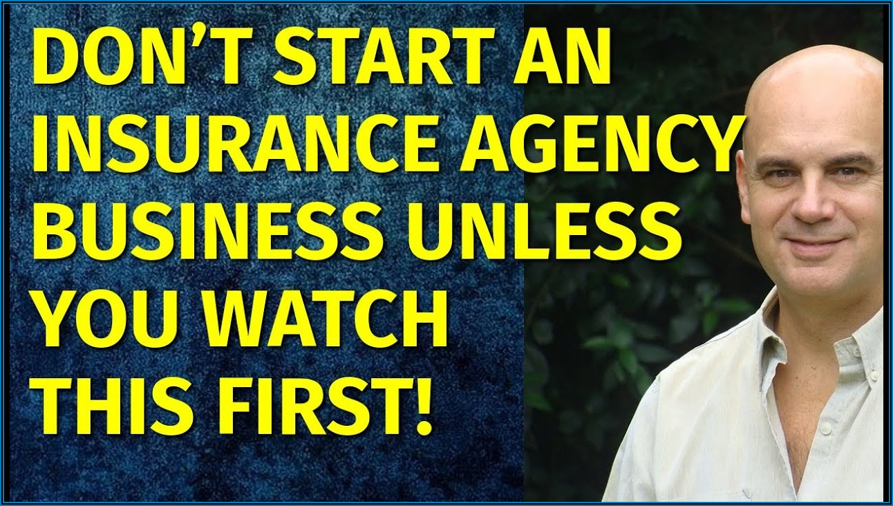 Insurance Business Plan Sample Pdf
