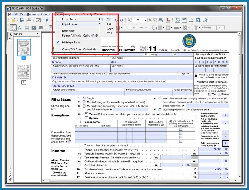 Isf Importer Security Filing Form