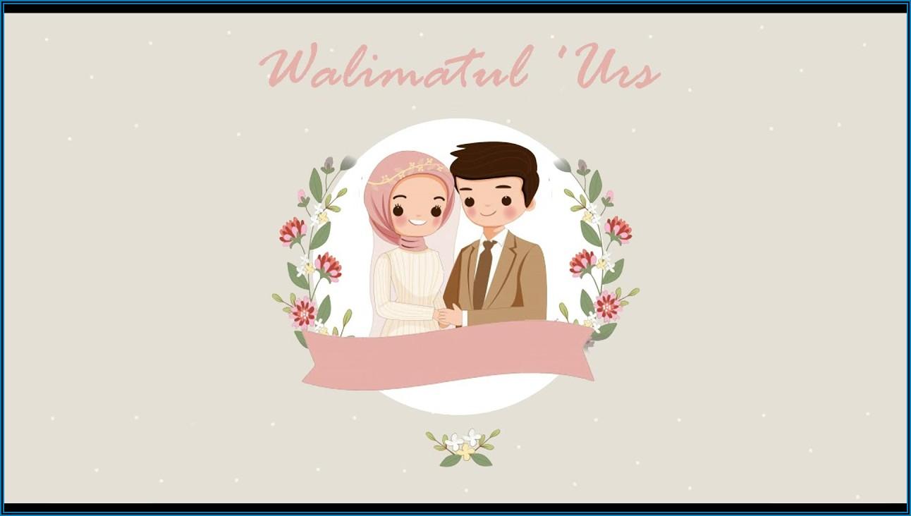 Islamic Wedding Invitation Video Template