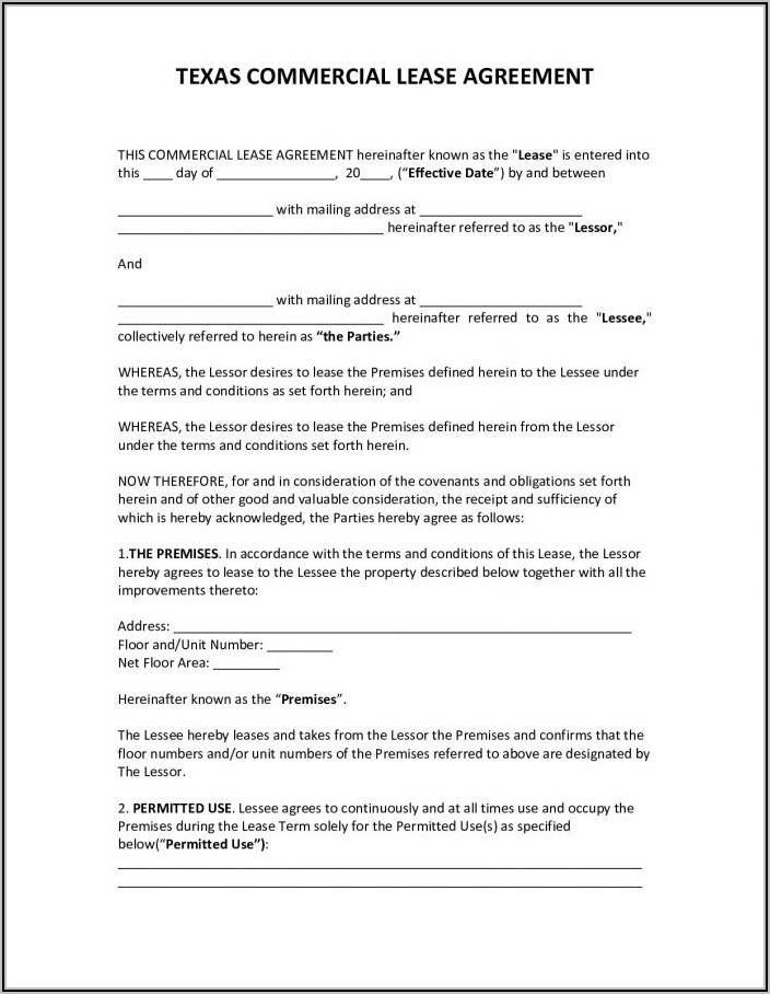 Lease To Purchase Option Agreement Template