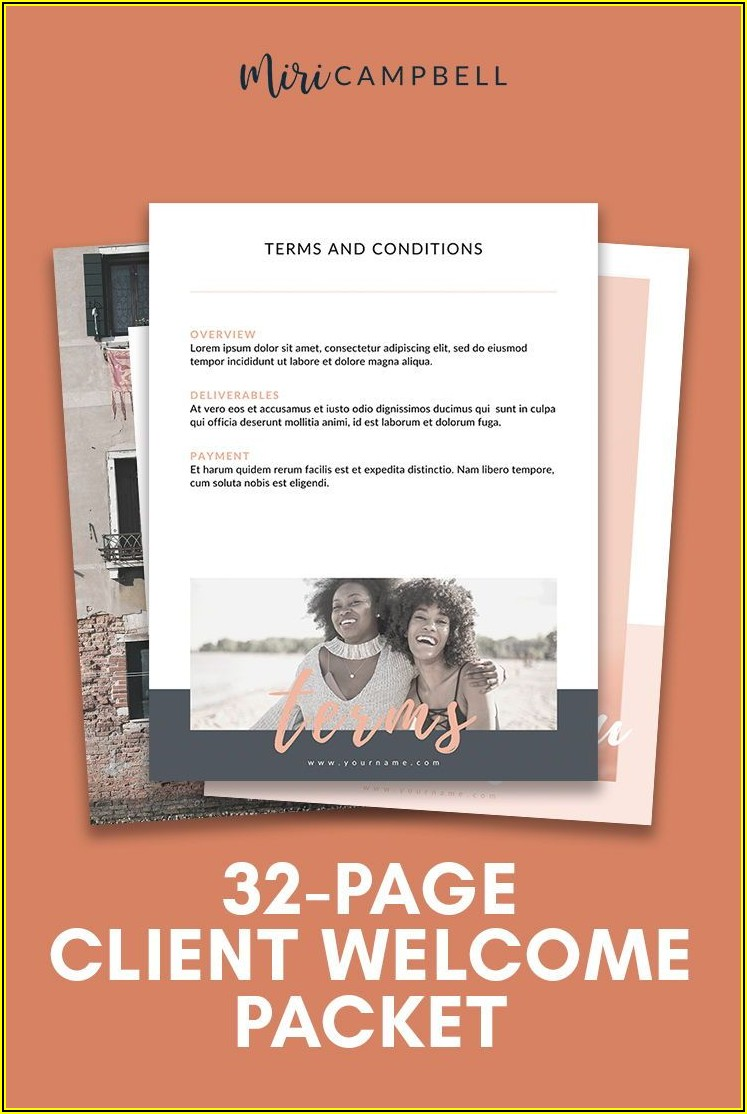 Marketing Packet Template