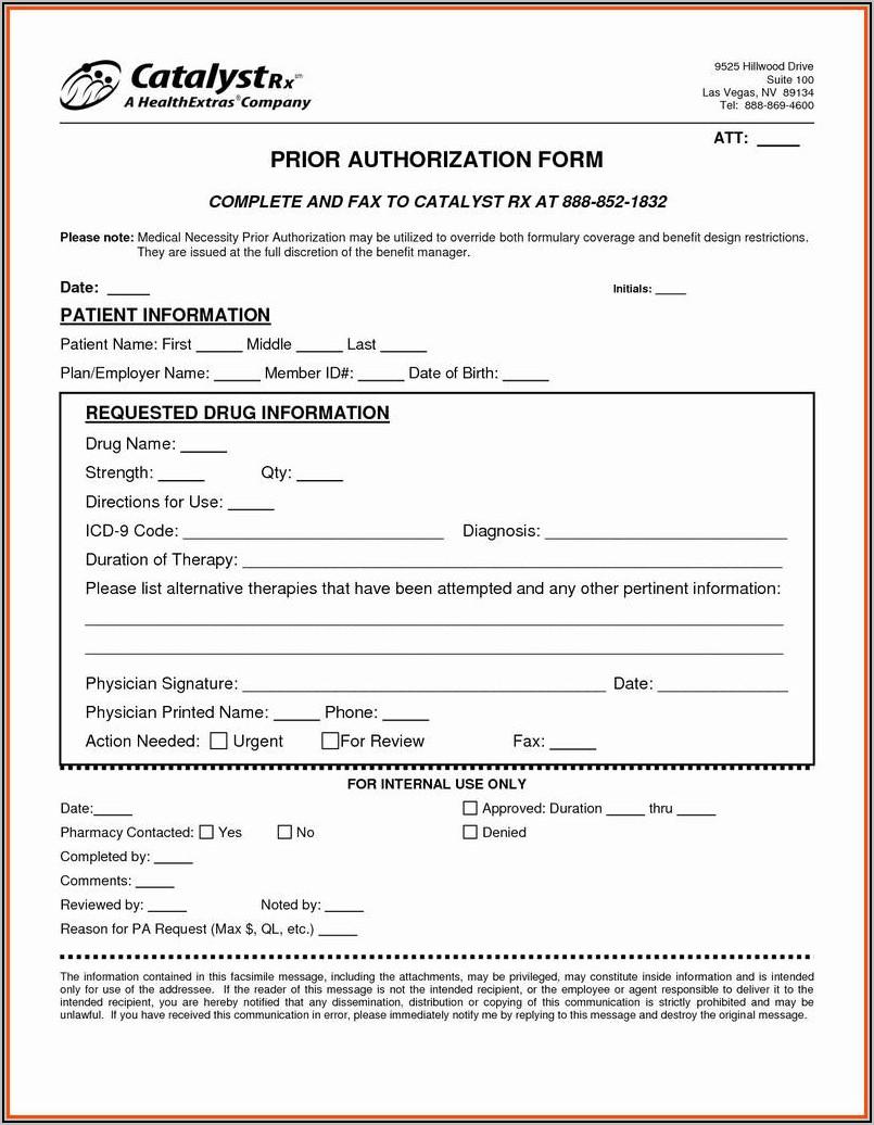 Medicare Part D Prior Authorization Form Express Scripts
