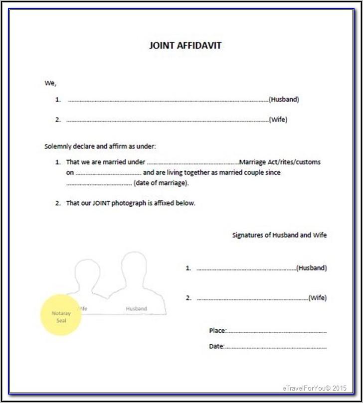 Ontario Notarial Certificate Form