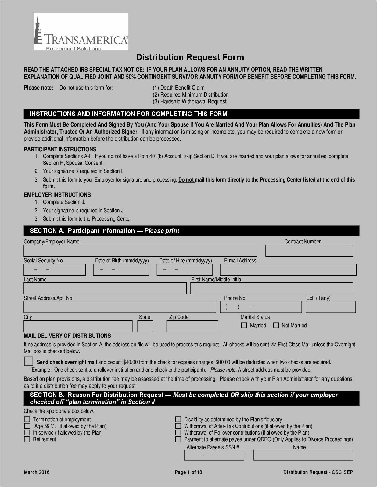 Paychex 401k Distribution Request Form