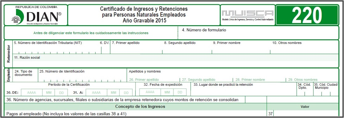 Pdf Editable Formulario