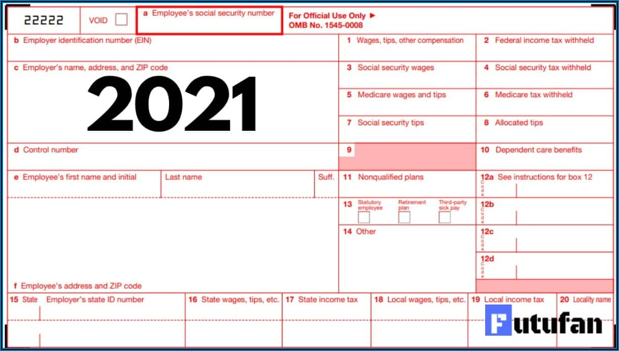 Print W2 Form From Irs