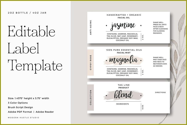 Printing Labels Templates