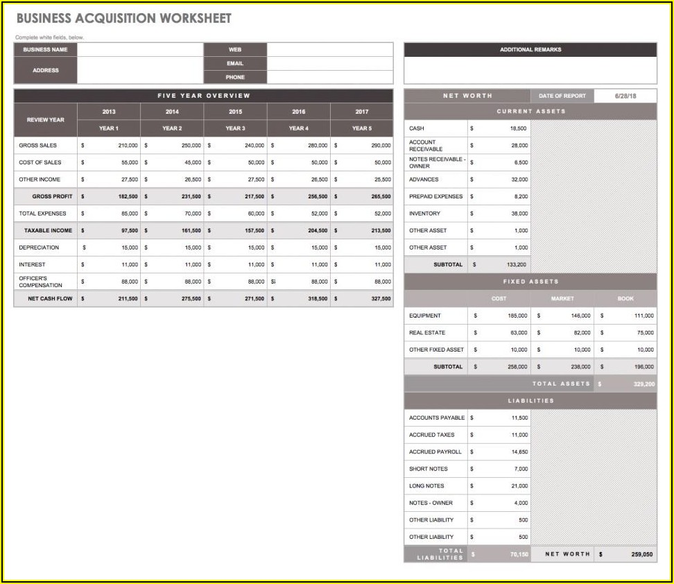 Project Management Workflow Template Excel