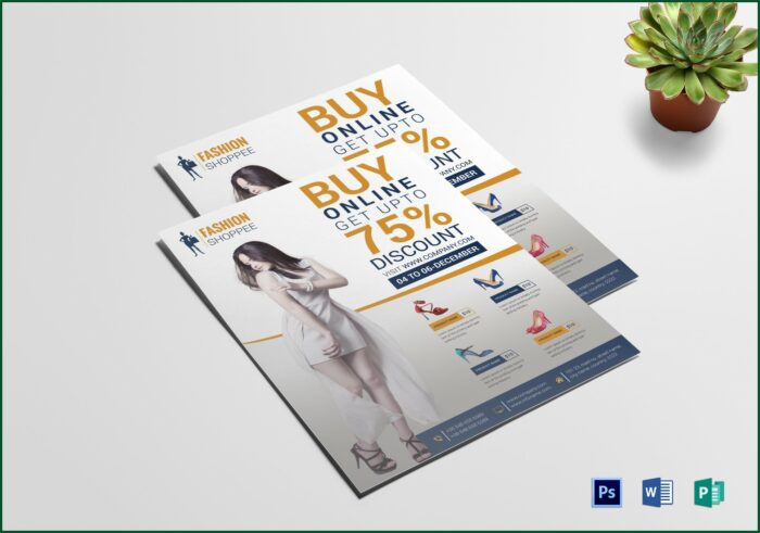 Promotional Flyer Template Word