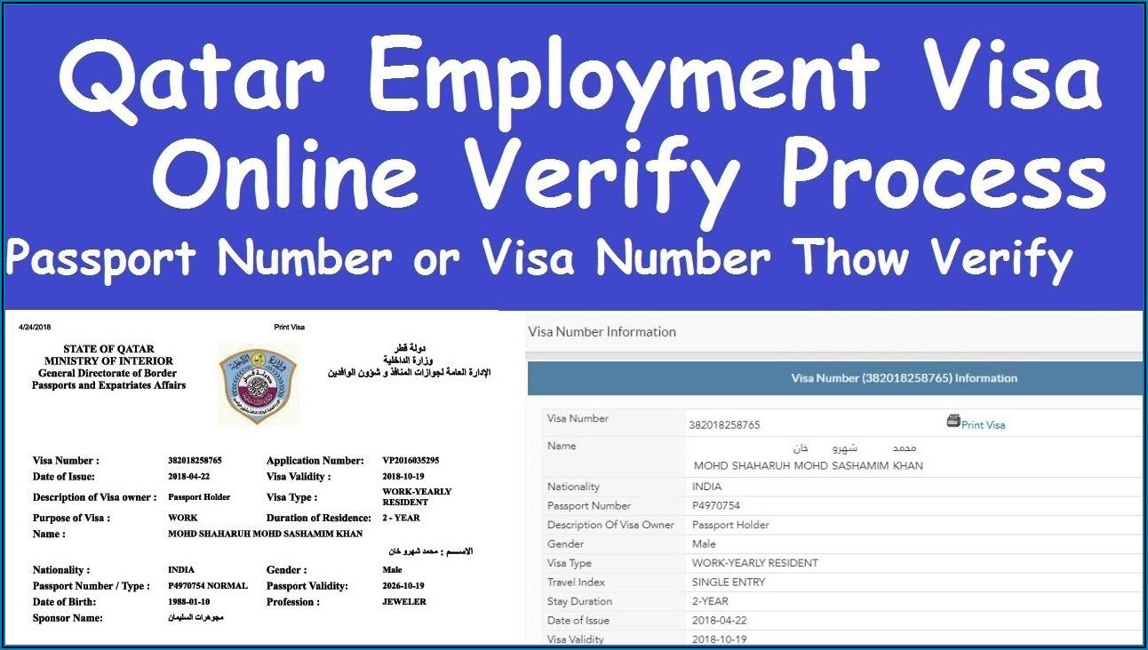 Qatar Visa Application Form For Bangladeshi