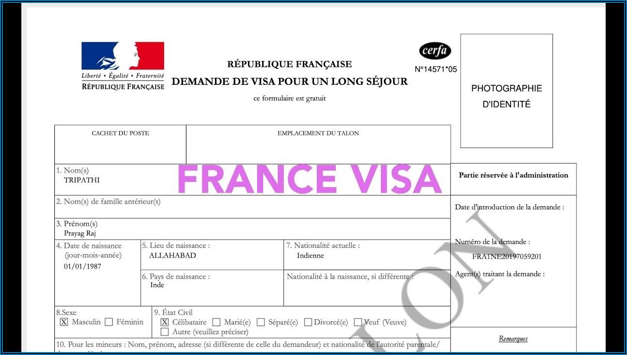 Qatar Visa Application Form Pdf