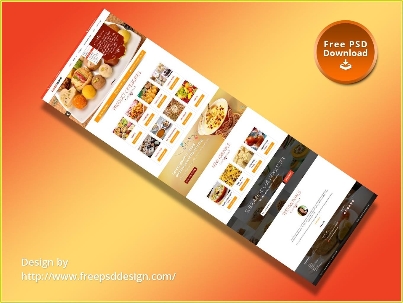 Restaurant Website Html Templates Free Download