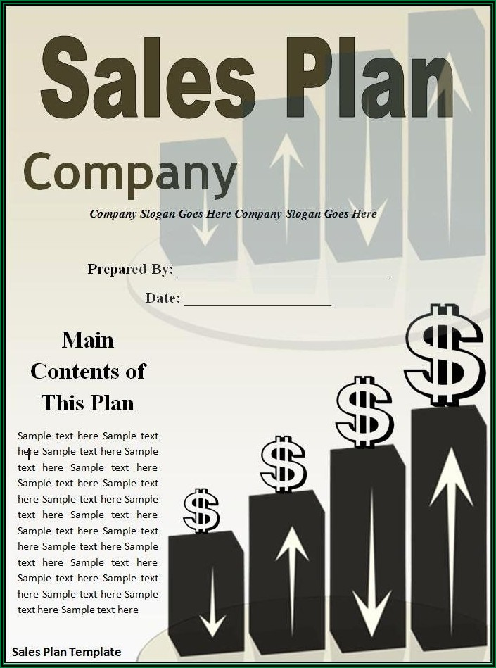 Sales Territory Planning Template
