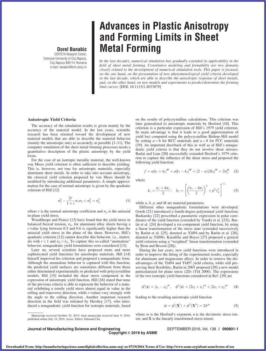Sheet Metal Forming Simulation Software Free Download