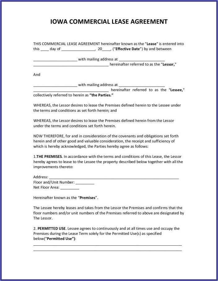 Simple Rental Agreement Form Pdf