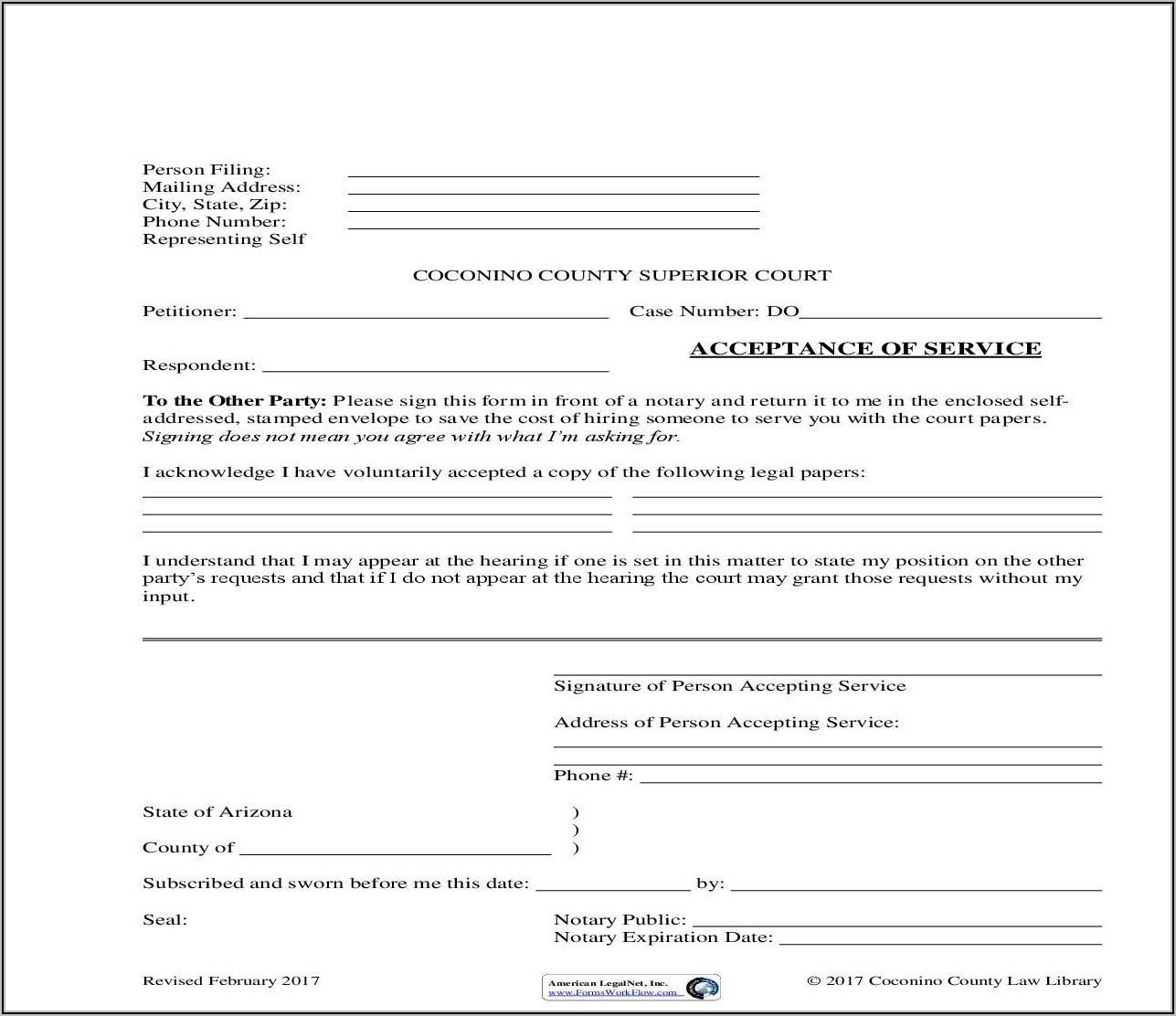 State Of Arizona Probate Forms