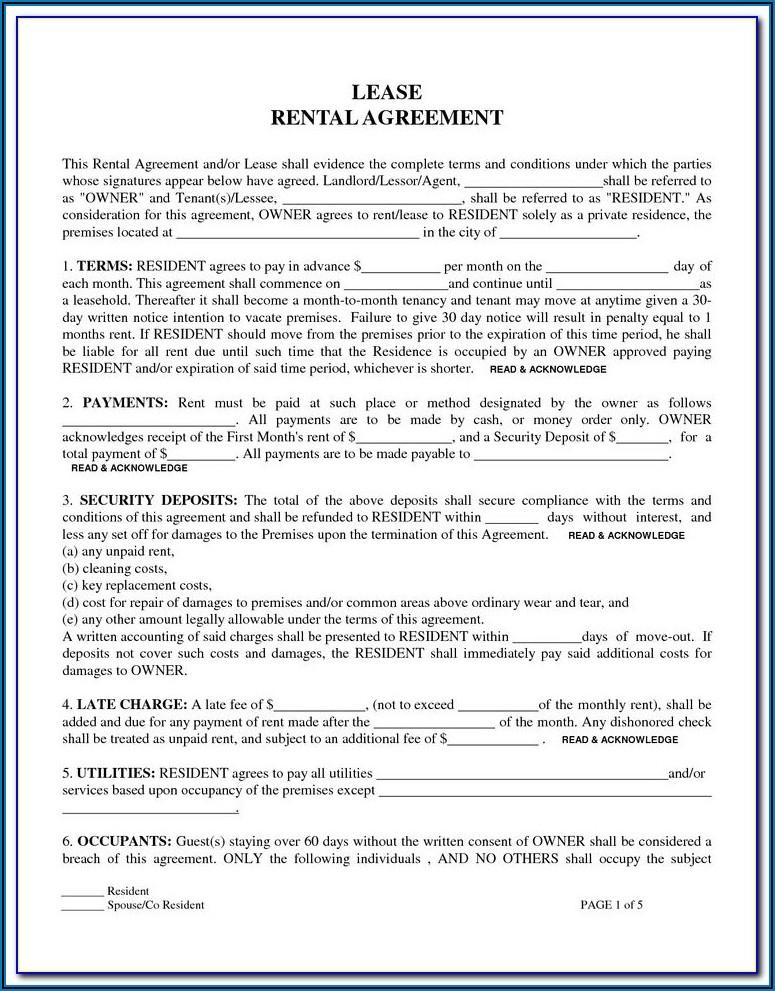 Storage Locker Rental Agreement Template