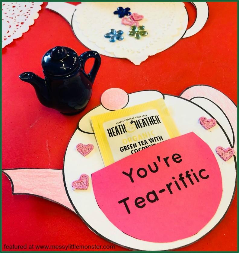 Teapot Card Template
