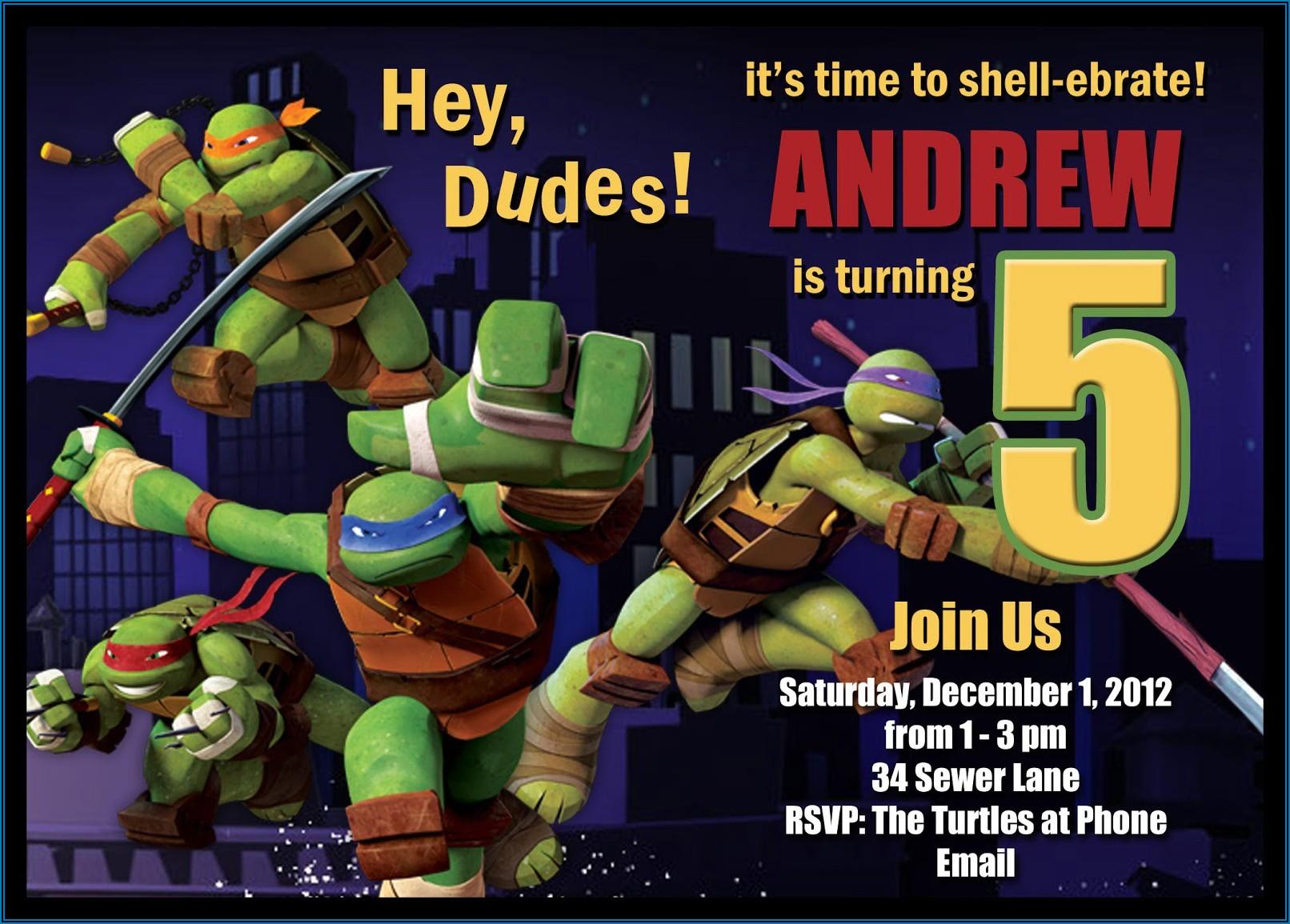 Teenage Party Invitation Templates Free