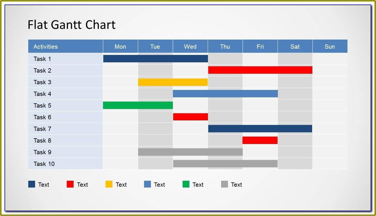 Template For Gantt Chart In Powerpoint