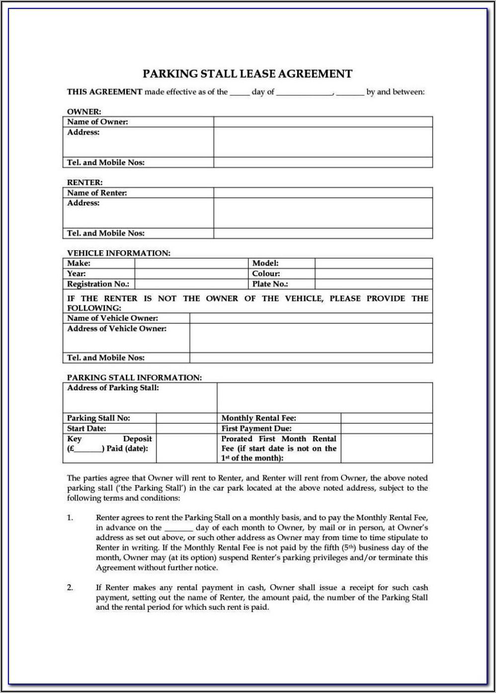 Tenancy Agreement Form Free Download Nz