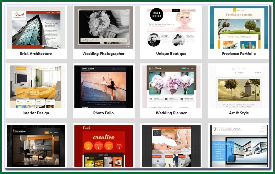 Website Templates For Godaddy