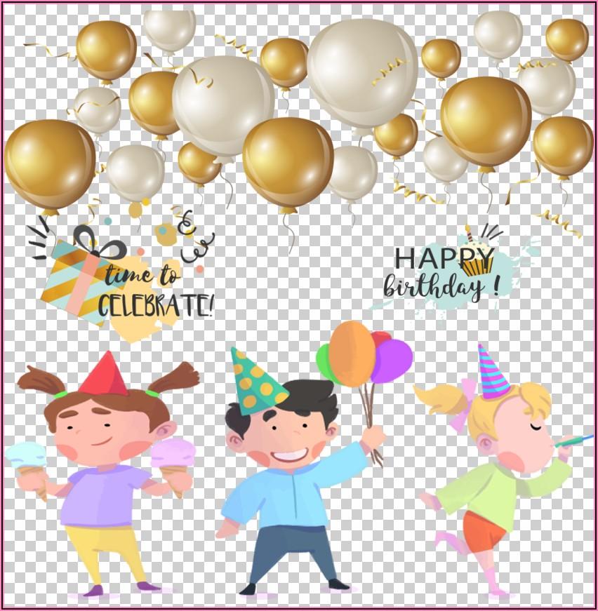 Birthday Invitation Background Png