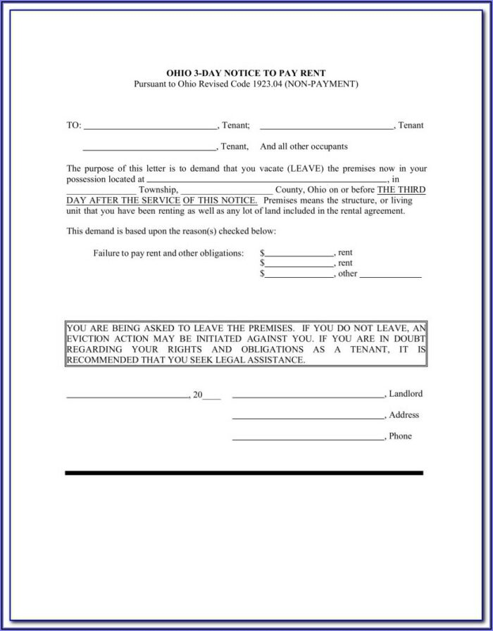 Clark County Ohio Eviction Forms