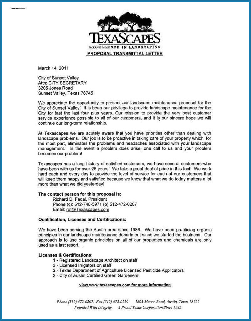 Commercial Property Management Proposal Template